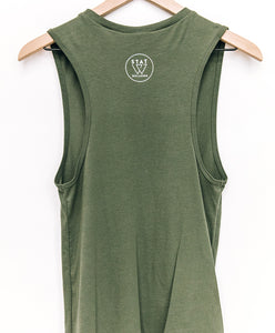 Wellness Feels Good Muscle Tank