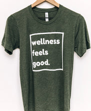 Load image into Gallery viewer, Wellness Feels Good Unisex Tee