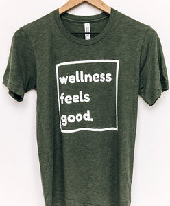 Wellness Feels Good Unisex Tee