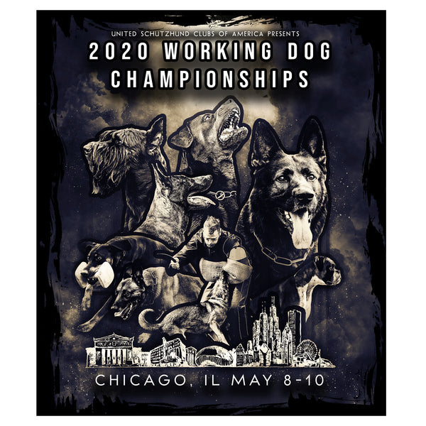 2020 Working Dog Championships Magnet
