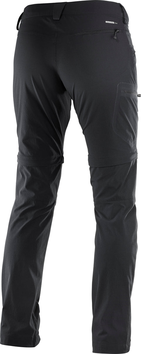 WAYFARER STRAIGHT ZIP PANT W (Black)