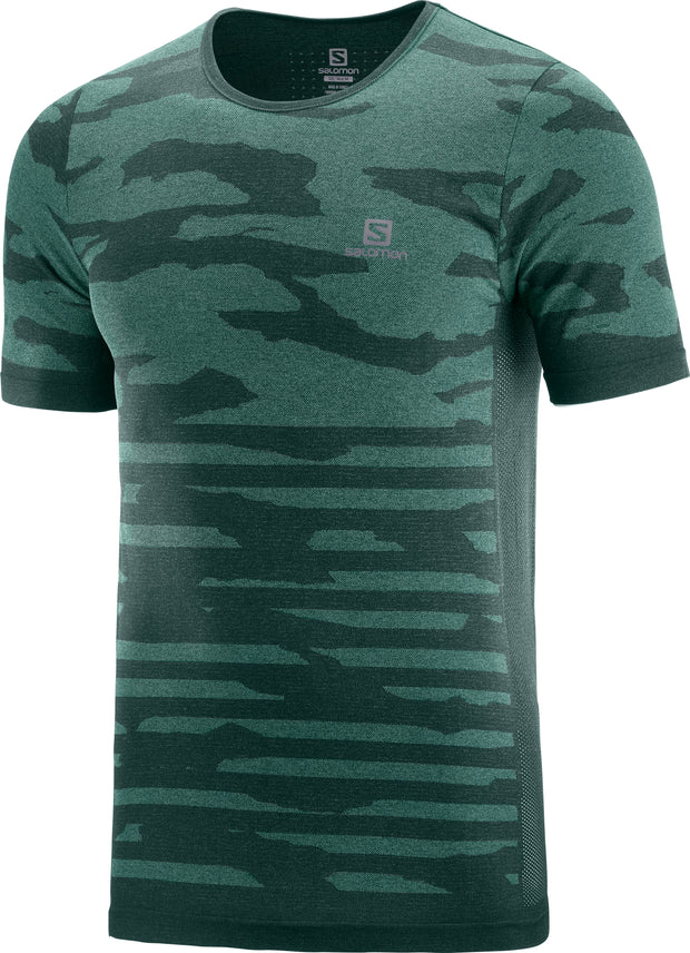 XA CAMO TEE GREEN (GABLES/Heather)