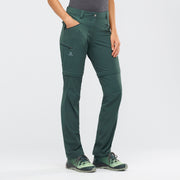 WAYFARER STRAIGHT ZIP PANT W (GREEN GABLES)