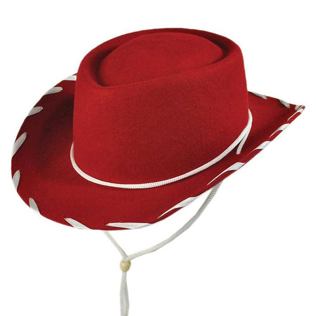 Jaxon Kids Cow boy Hat(Red)