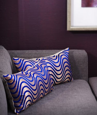 Modern Wave Pillow