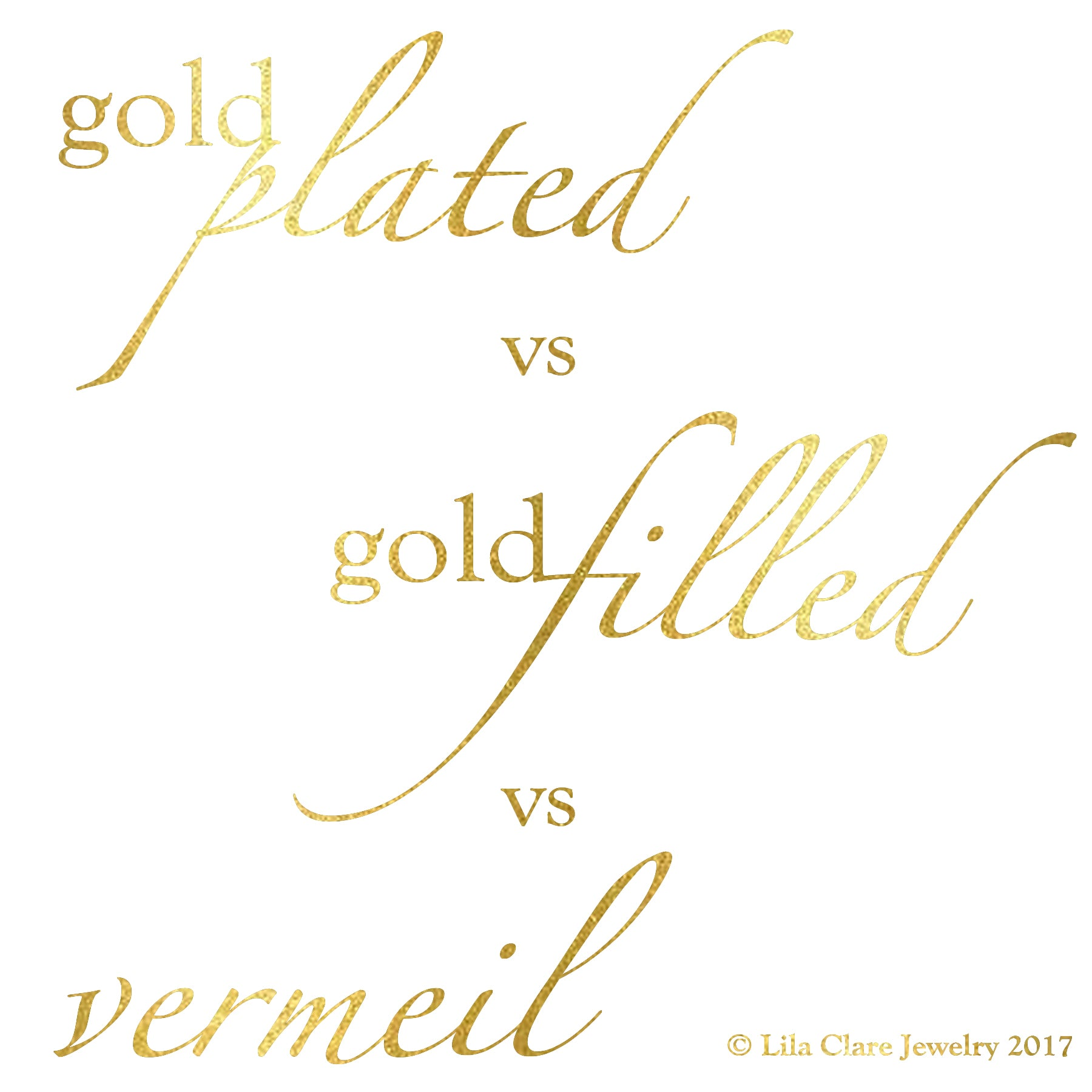 A Quick & Easy Guide to Gold-Plated, Gold-Filled, & Vermeil Jewelry