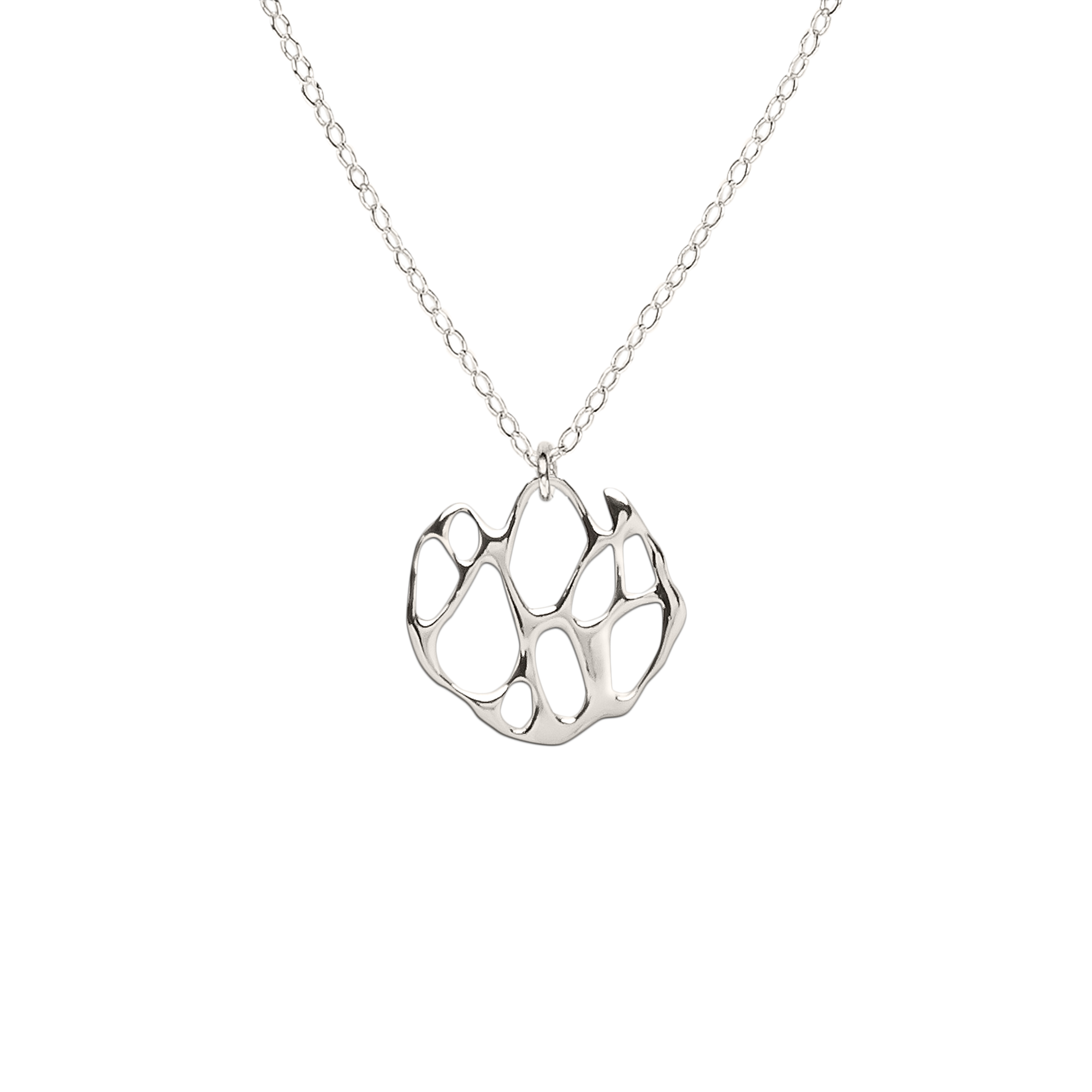 Opuntia Small Circle Cactus Necklace