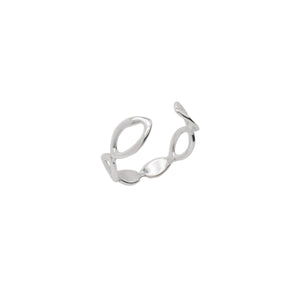 Arbor Open Leaf Cuff Ring