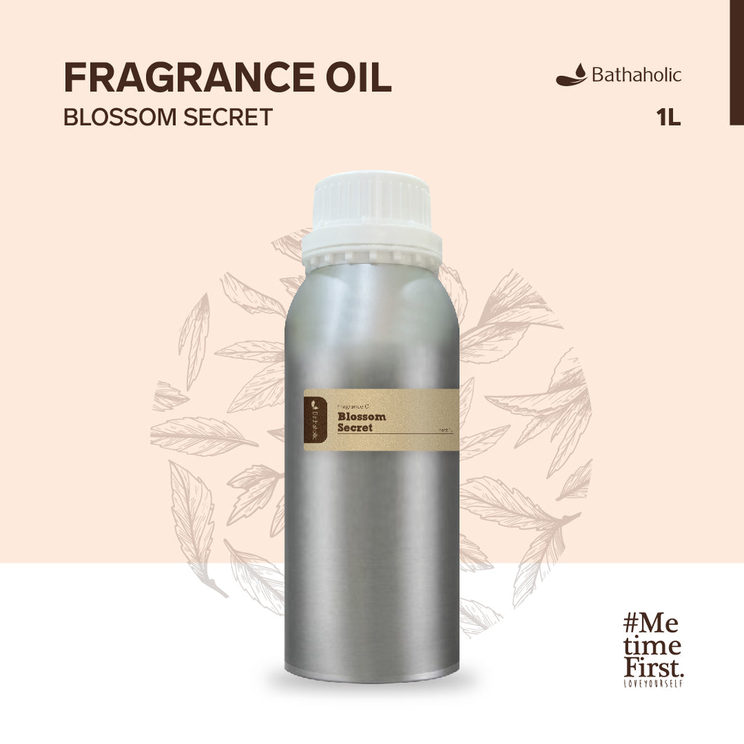 Blossom Secret - Fragrance oil 1000 ml Bathaholic