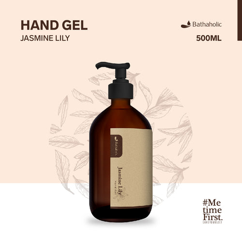 Hand Gel Jasmine Lily 500 ml Bathaholic