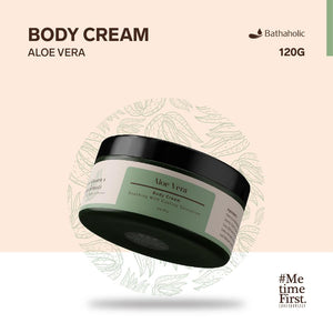 Paket Aloe Vera Bathaholic (Body Cream, Face soap, Shampo Bar)