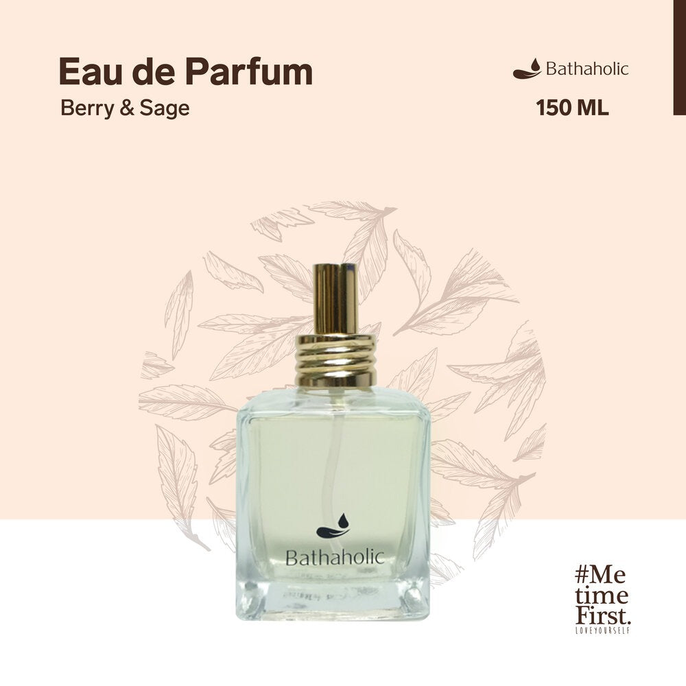 Eau De Parfum Premium Collection 150 ml- Berry & Sage Bathaholic