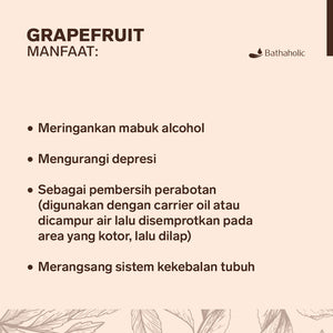 Grapefruit - Essential Oil