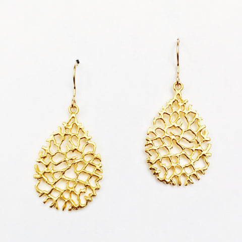 Gold Coast Earrings - 18k Gold Earrings