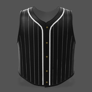 Vest Customizer -  Baseball Style