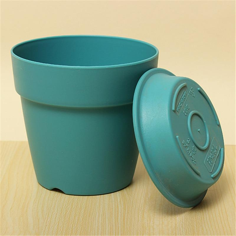 blue kmerlife garden flower pot