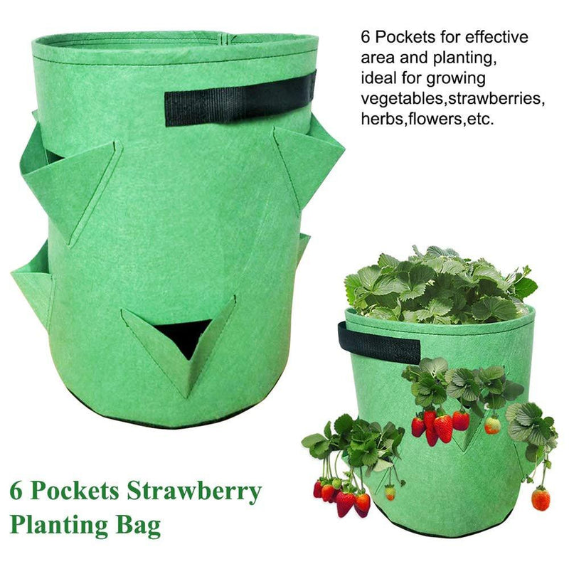 green grow plant bags for vegetables