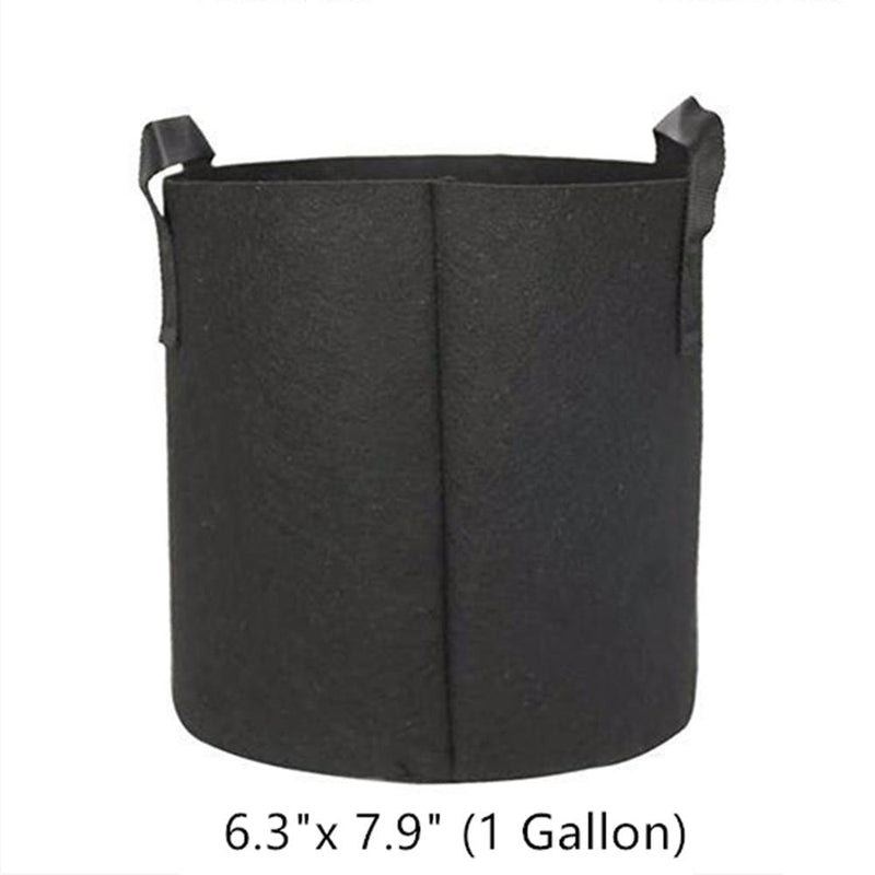 Gardening Planting Growing Bag 1 or 7 Gallons Plant Pot with Handles (1 Pack) by KMERLIFE