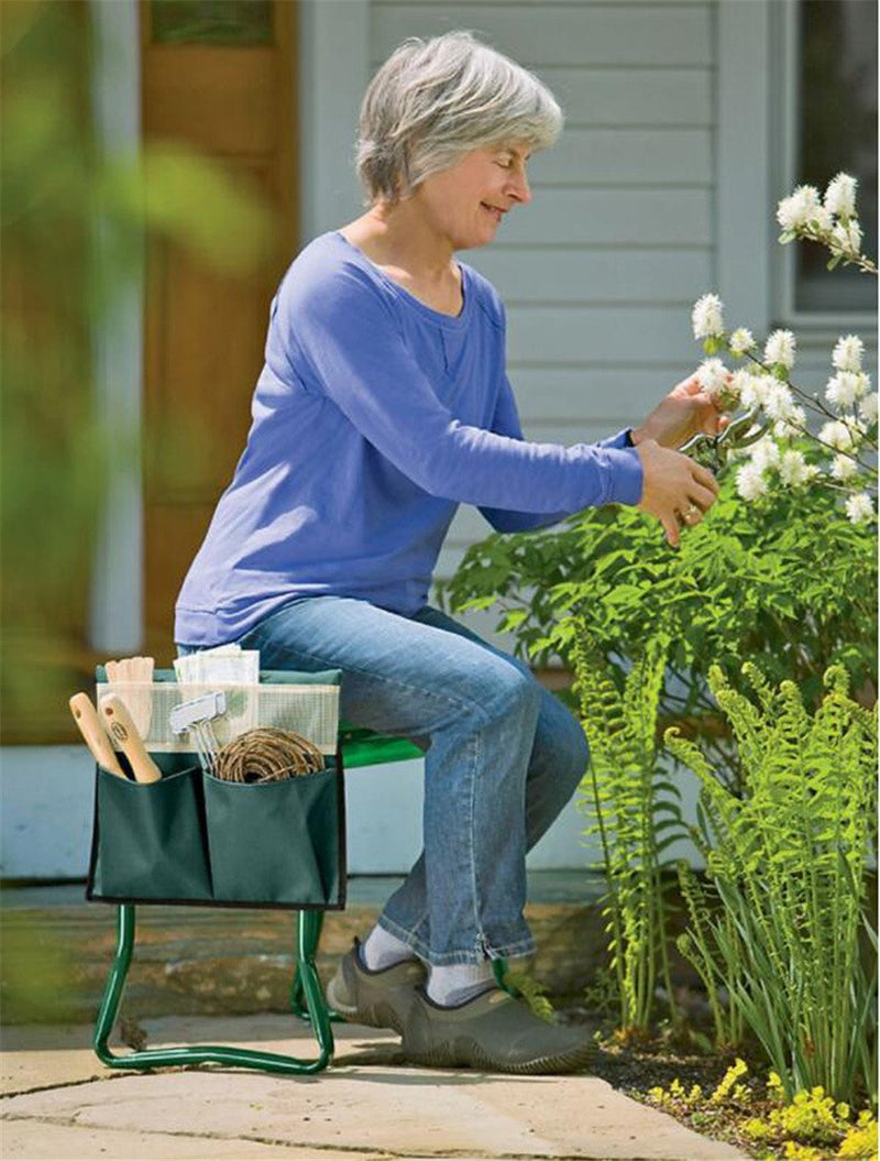 kmerlife garden kneeler and seat folding