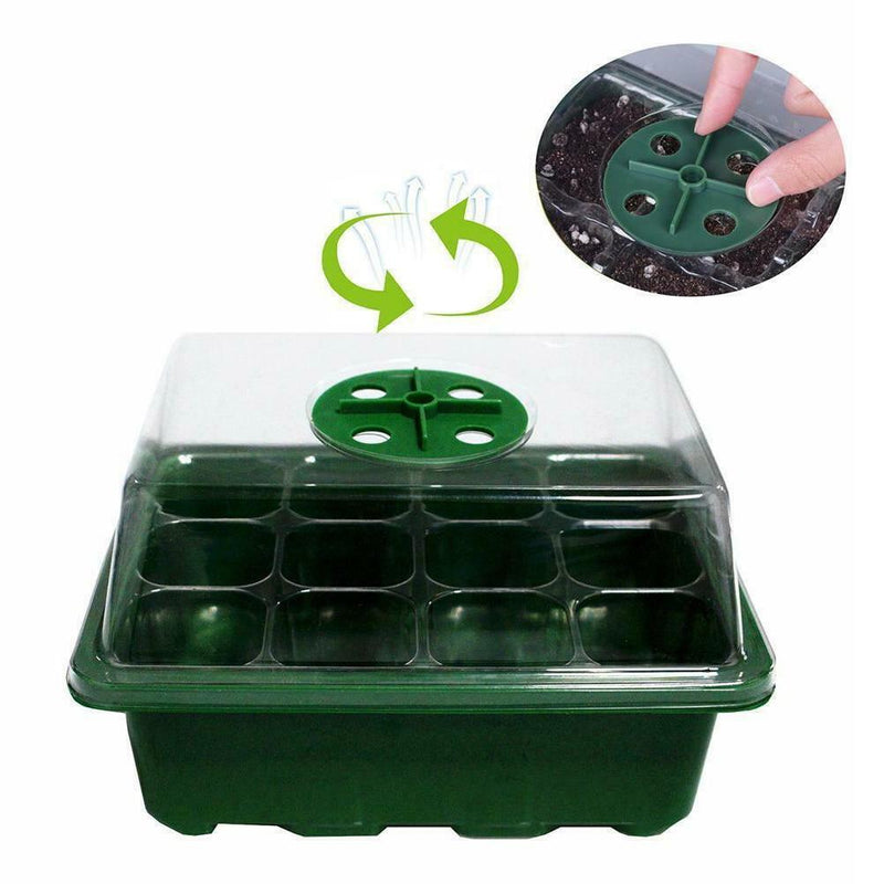 kmelife growing tray with lids