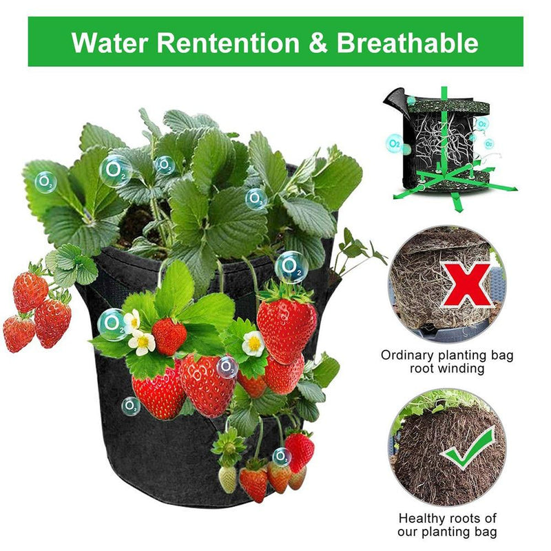 breathable kmerlife grow bags