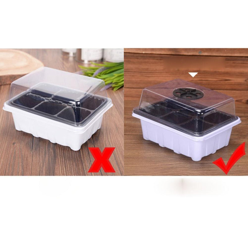 kmerlife seeding tray with lids
