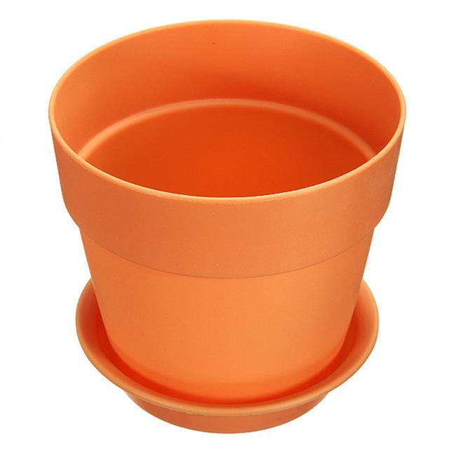 orange garden plant flowerpots kmerlife