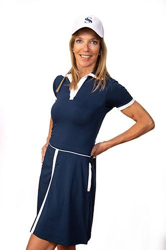 Sheila Short Sleeve Golf Dress