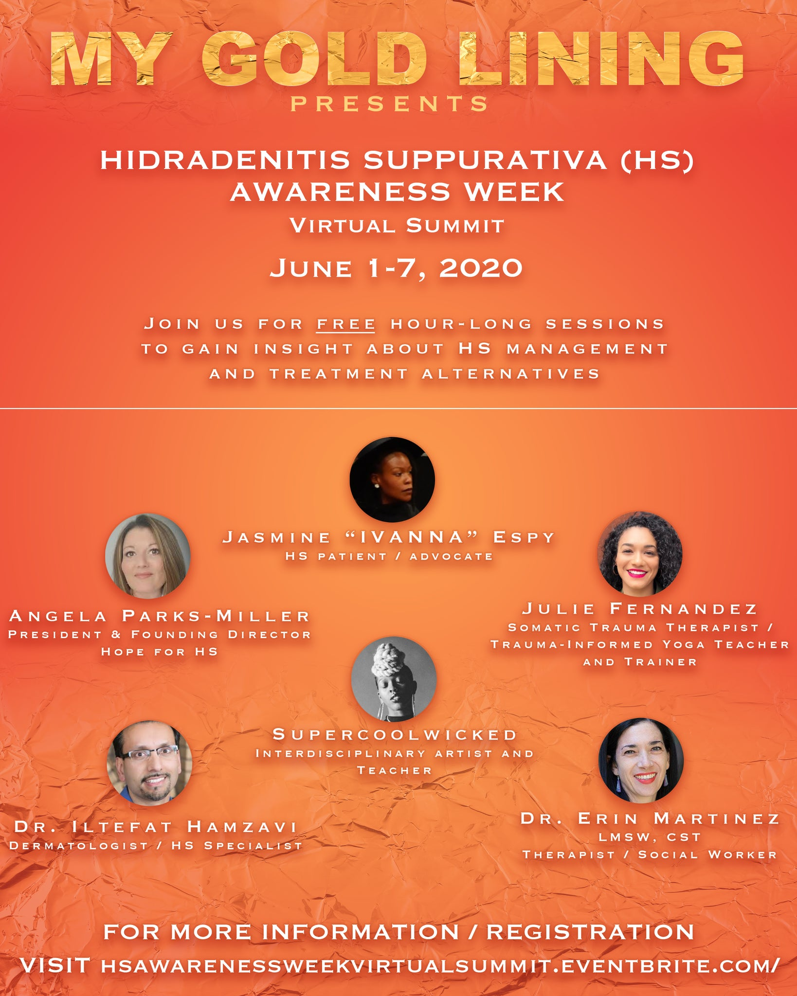 Free Hidradenitis Suppurativa Awareness Week Virtual Summit