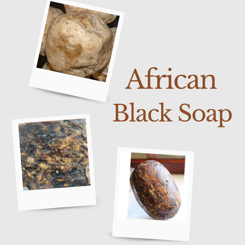 Variety Pack of Fair Trade African Black Soap