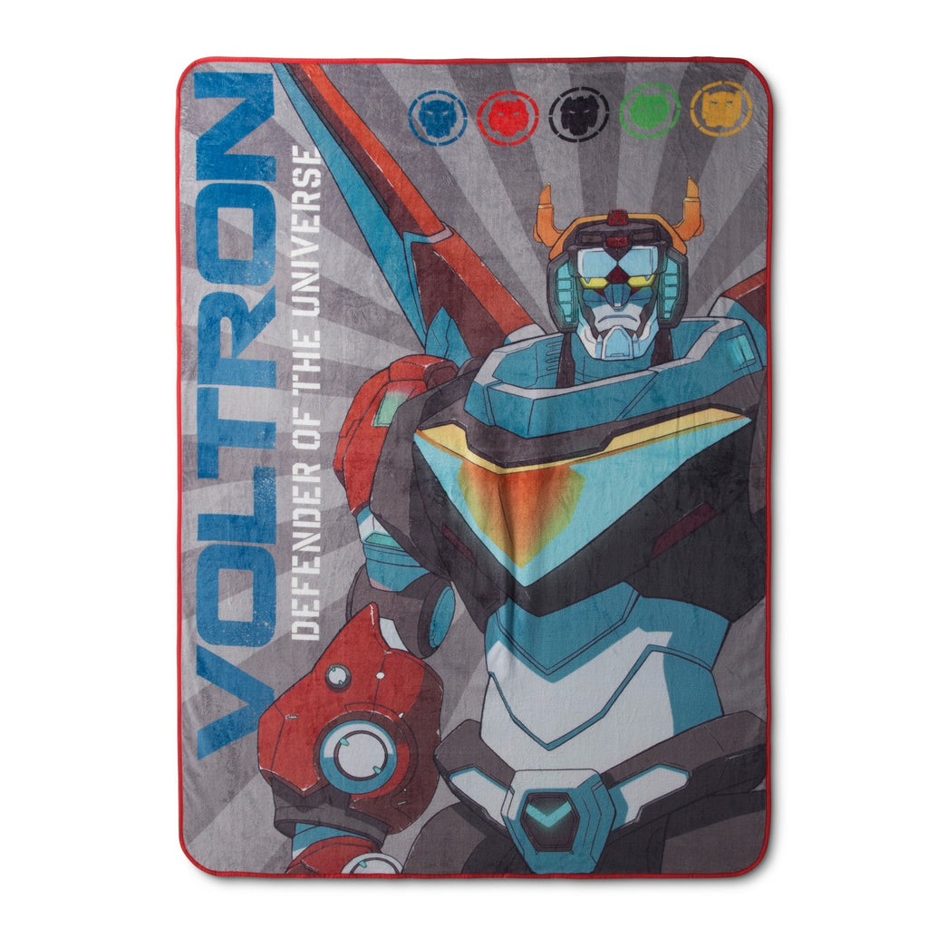Voltron Defender Blanket Bed Spread
