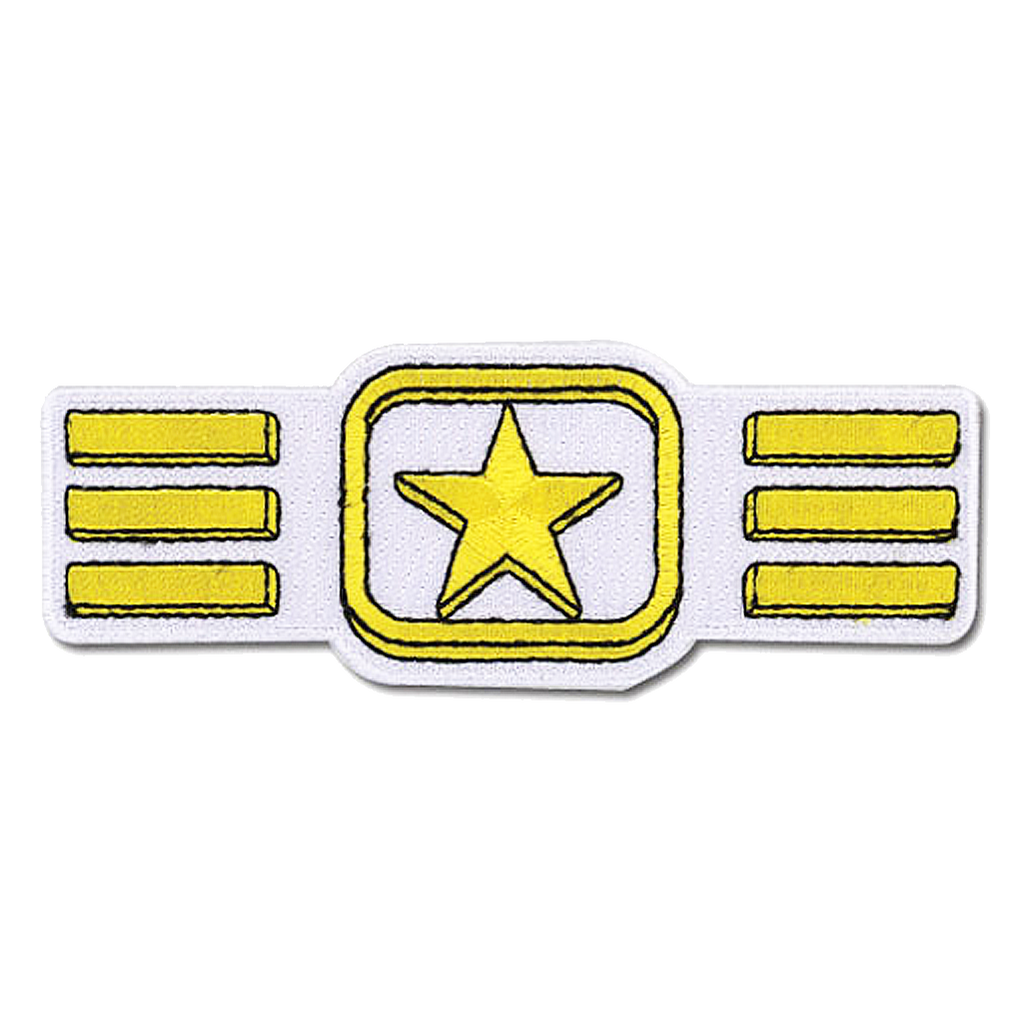 Voltron Star Belt patch
