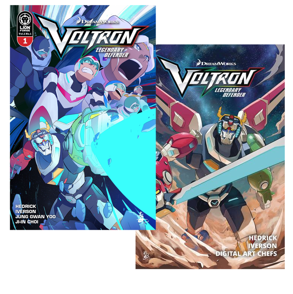 Voltron Legendary Defender Volume 1 AND Volume 2: Pilgrimage