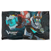 Voltron Legendary Defender Fleece Blanket