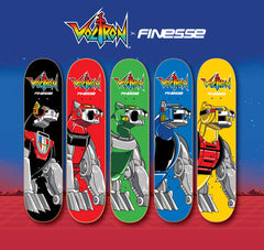 Voltron Yellow Lion Skateboard Pre Order