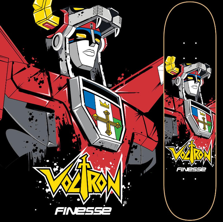 Voltron 2020 Royal Graphic Skateboard BRAND NEW