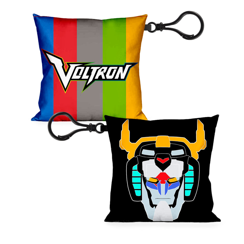 Voltron Legendary Defender Pillow Keychain