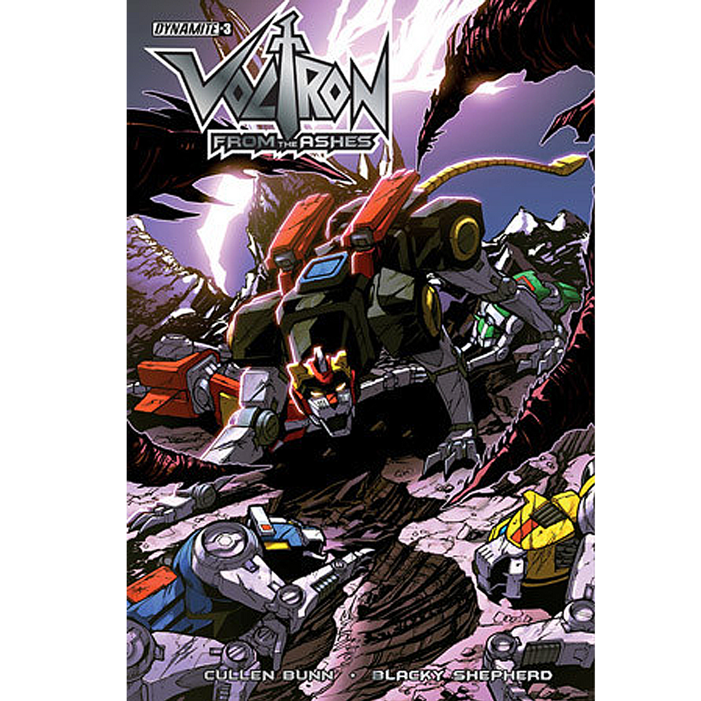 Voltron: From the Ashes #3 Now Shipping
