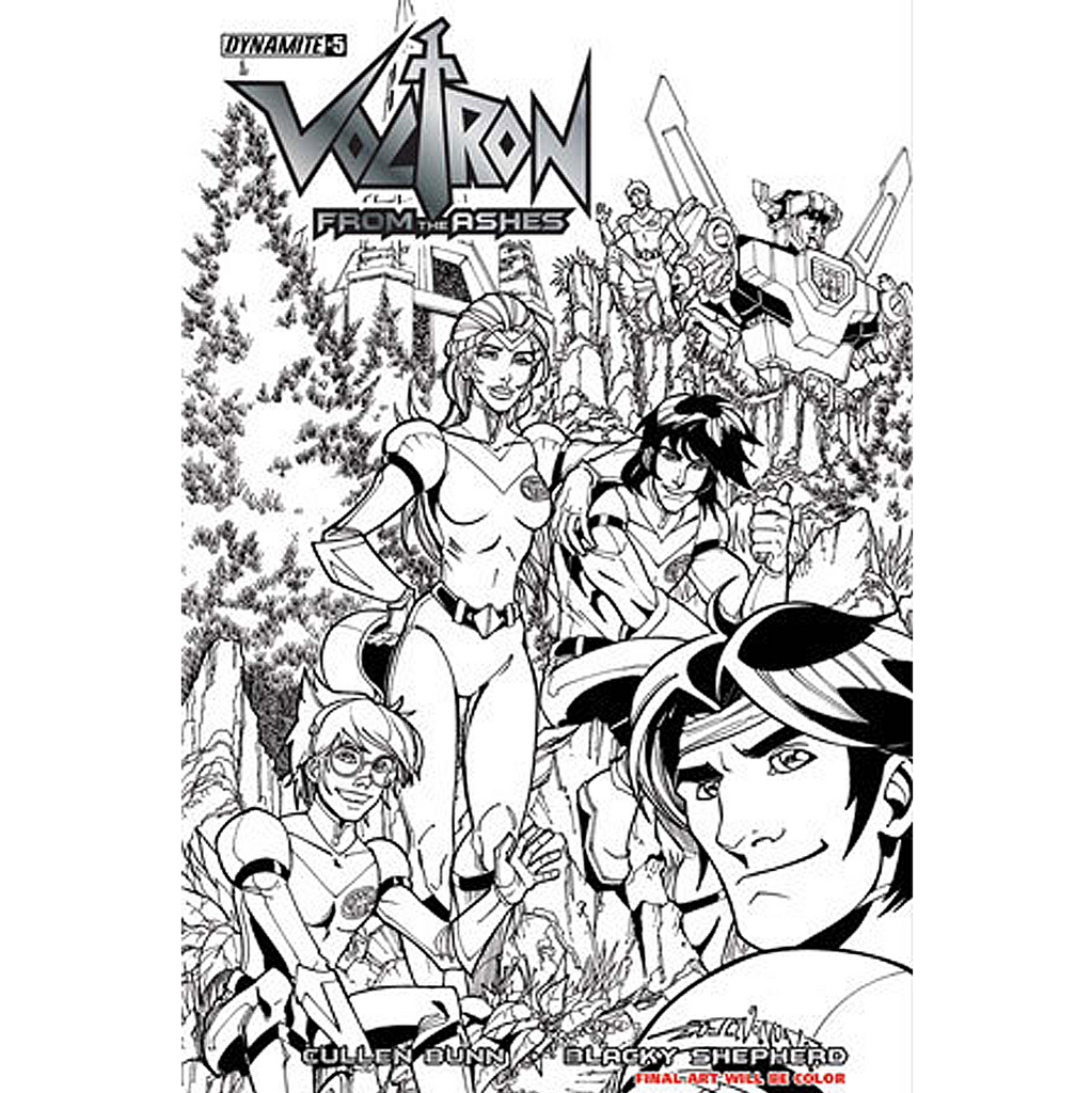 Voltron: From the Ashes #5 Now Shipping!
