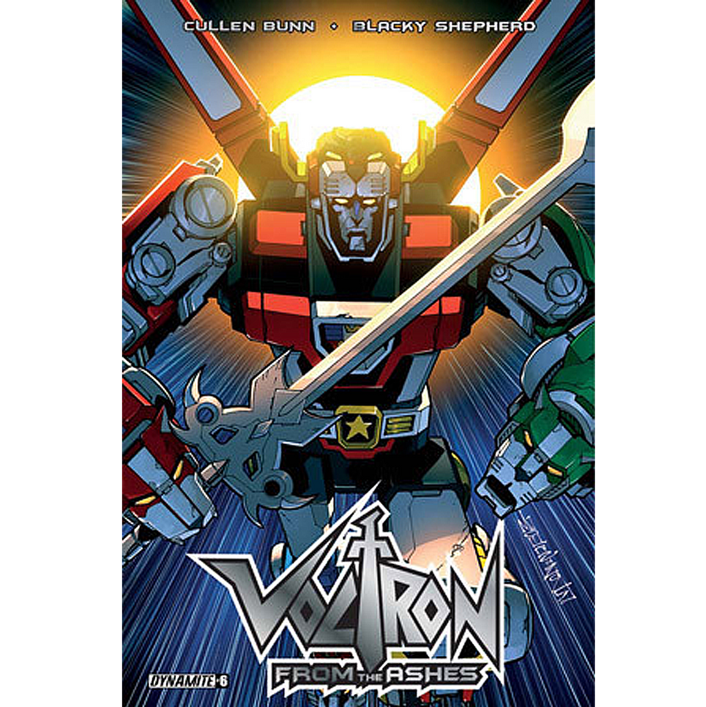 Voltron: From the Ashes #6 Now Shipping