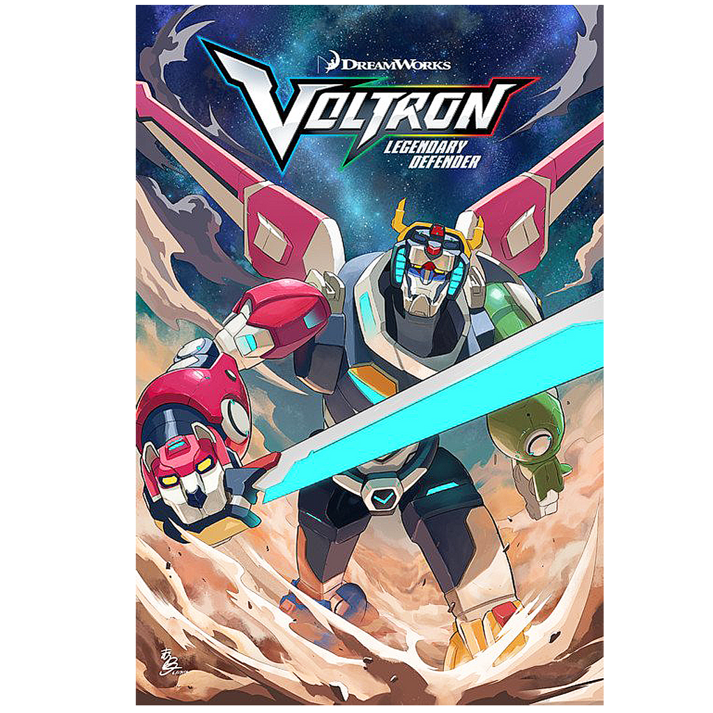 Voltron Legendary Defender Issue #2 Now Shipping