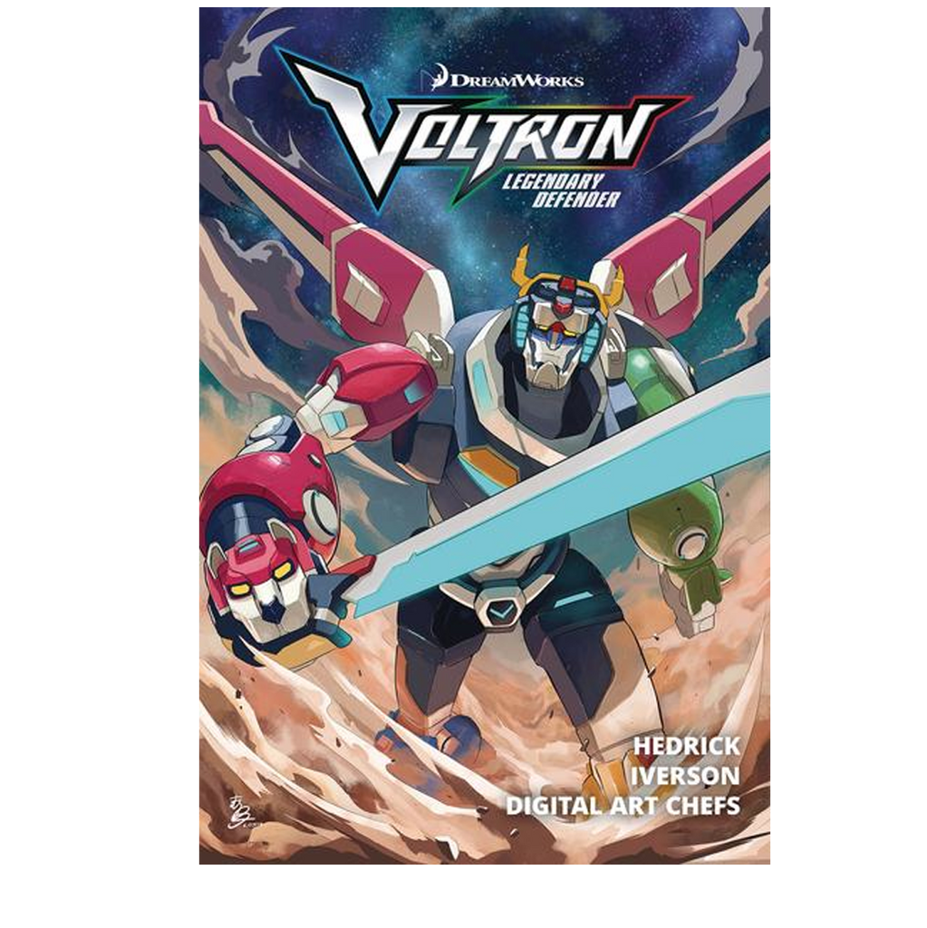 Voltron Legendary Defender Volume 1 NOW SHIPPING