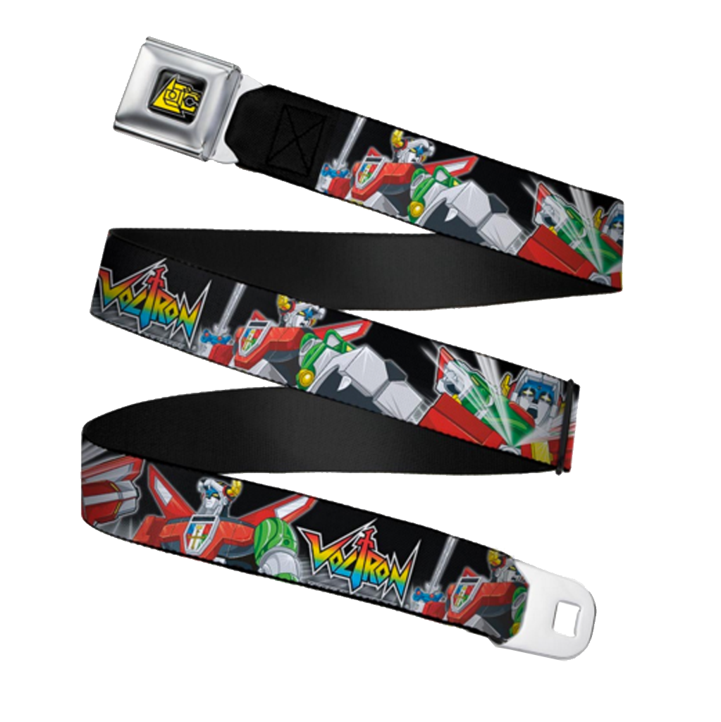 Lion Symbol Seatbelt Belt