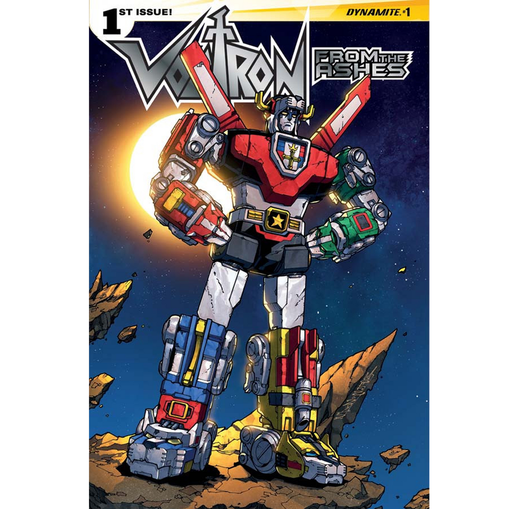 Voltron: From the Ashes #1 Now Shipping