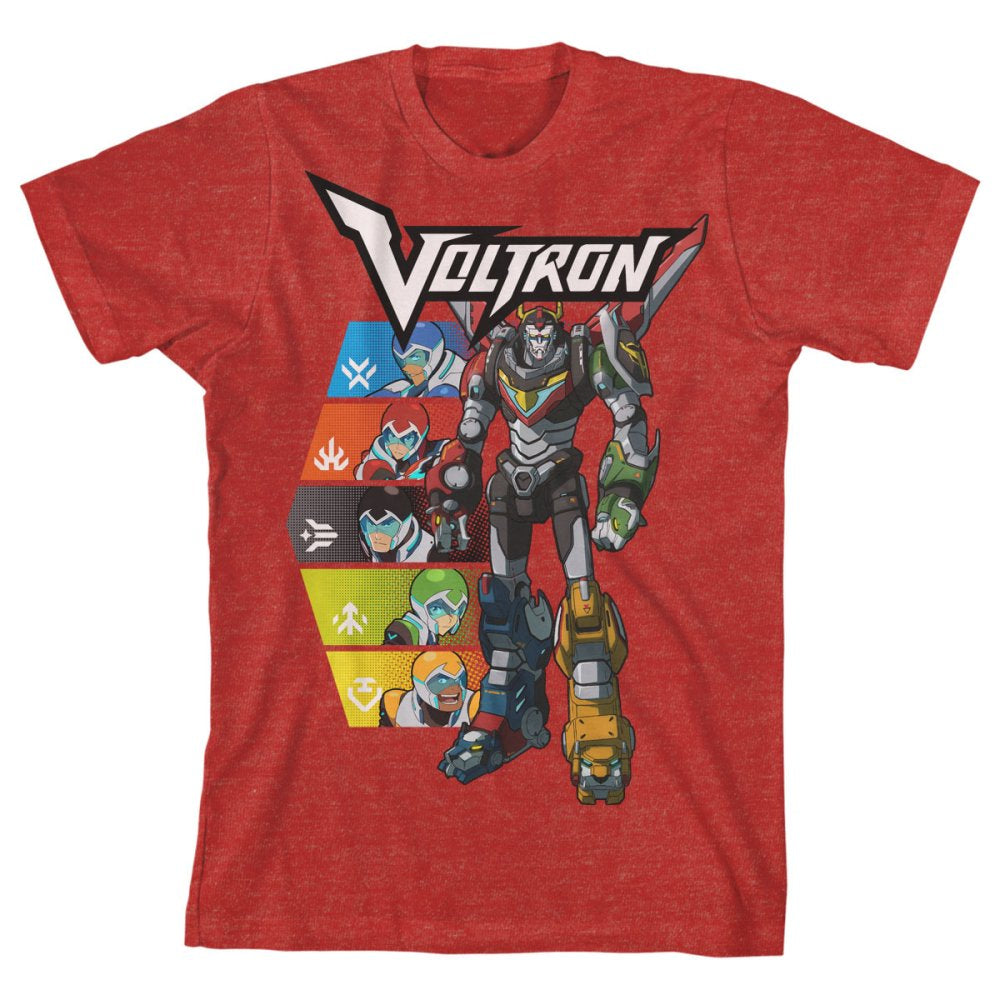 Voltron Legendary Defender Mighty Kids T-shirt
