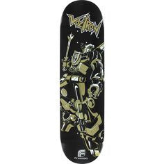Voltron 30th Skateboard Classic Metallic