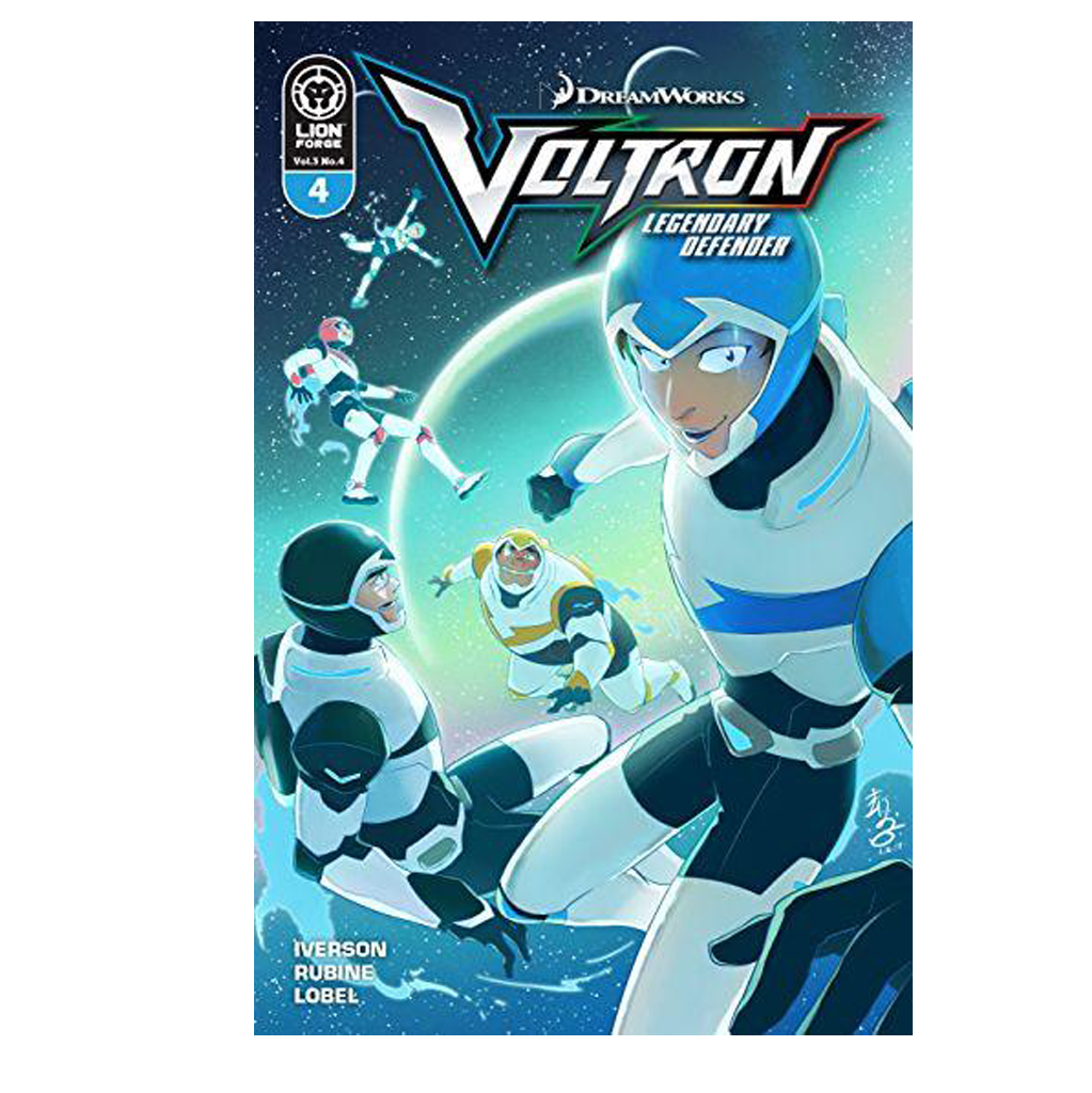 Voltron Legendary Defender Volume 3 Issue #4 Regular Cover Now Shipping