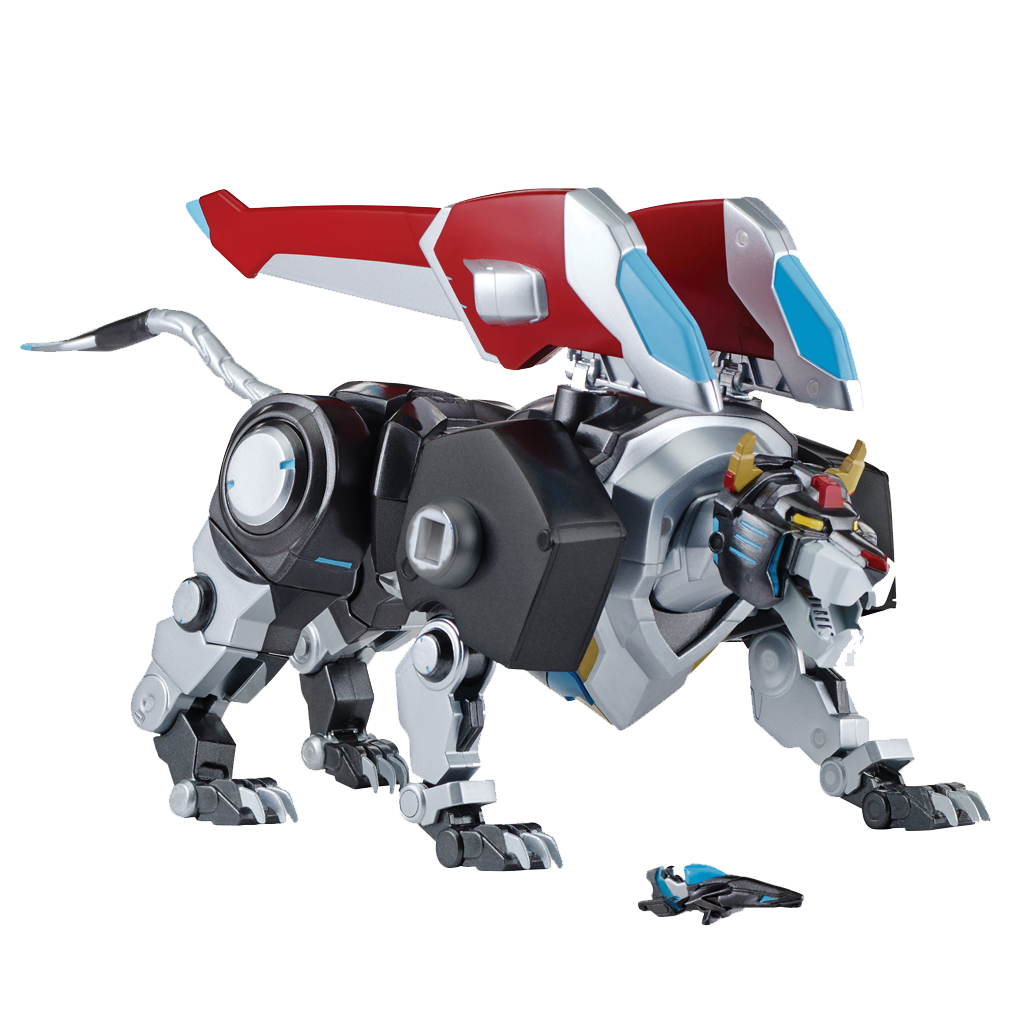Playmates Voltron Legendary Defender 5.5 inch Action Figure - Black Lion