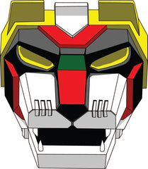5 pack Voltron Lion Face Masks BRAND NEW