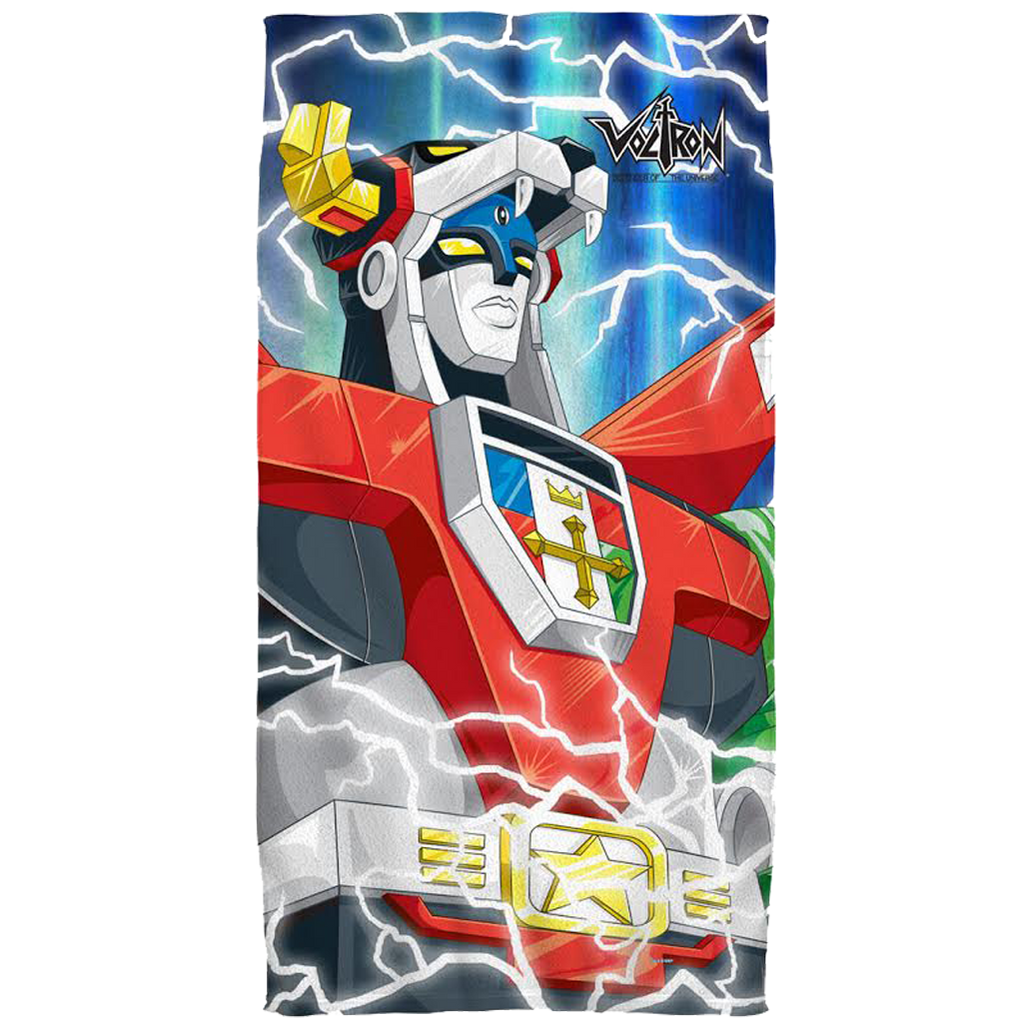 Voltron Fleece Blanket